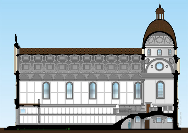 Pietro Lombardo, Sta Maria dei Miracoli, begun 1481, elevation, Venice